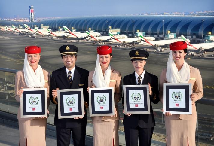 Emirates Tripadvisor 2017
