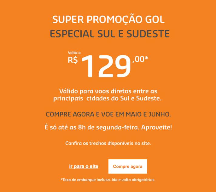 Promoção GOL
