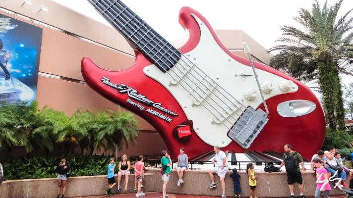 Rock n' Roller Coaster starring Aerosmith montanha russa 3
